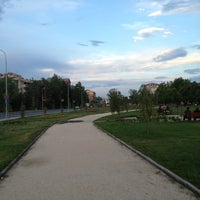 Photo taken at Парк Македонија by Iva G. on 6/13/2013