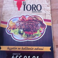Photo taken at EL TORO Burger House by Serkan P. on 5/24/2013