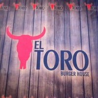 Photo taken at EL TORO Burger House by Serkan P. on 8/28/2013