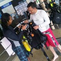 Photo taken at Seamonkey Dive Centre by Eddy T. on 5/29/2013