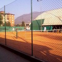 Photo taken at A.S.D. Scuola Tennis Gigi by Chiara F. on 3/17/2014