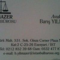 Photo taken at Yılmazer Hukuk Bürosu by Barış on 9/25/2013