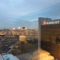 Photo taken at Newark Liberty International Airport Marriott by Yong K. on 1/17/2017