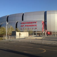 Photo taken at University of Phoenix Stadium by Christopher P. on 3/5/2013