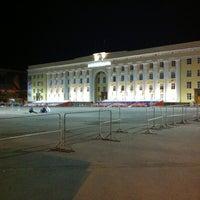 Снимок сделан в Площадь Ленина пользователем Iren 5/14/2013