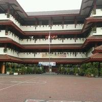 Photo taken at SMP Negeri 49 Jakarta by Riri on 5/25/2013