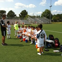 Photo taken at WRAL Soccer Center by Michael on 9/22/2012