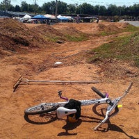 Photo taken at Yukon BMX Raceway by James Kyle V. on 8/25/2013