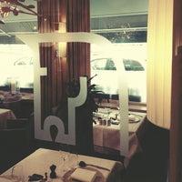 Photo taken at Restaurant Hôtel Les éleveurs by David on 11/4/2012