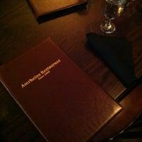 Photo taken at Amrheins Restaurant by RadioBDC on 3/5/2013
