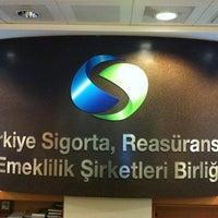 Photo taken at Türkiye Sigorta Birliği by Sinem K. on 7/4/2013