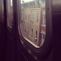 Photo taken at MTA Subway - M Train by Dana 🦋 on 11/16/2012