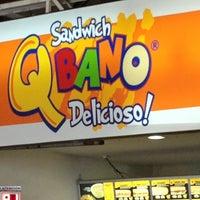 Photo taken at Sandwich Qbano La 14 Pasoancho by Brian S. on 1/27/2013