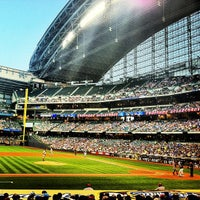 Photo taken at Miller Park by Leah C. on 7/10/2013