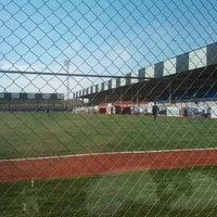 Photo taken at Elince stadionu by Nijad N. on 5/7/2013