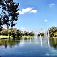 Photo taken at Ibirapuera Park by Hubert A. on 7/14/2013
