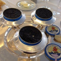 Photo taken at Le 144 - Restaurant Petrossian by Thomas on 3/18/2014