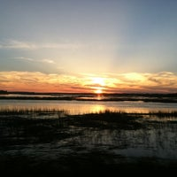 Photo taken at Sunset Beach by Rebecca on 3/10/2013