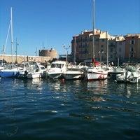 Photo taken at Port de Saint-Tropez by Valerie on 9/15/2012
