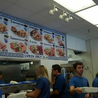 Photo taken at Mykonos Grill by Jen B. on 9/27/2012