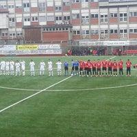 Photo taken at Stadio Comunale Borgosesia by Antonio R. on 12/7/2014