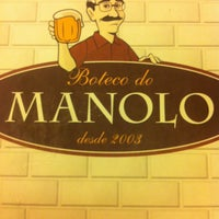 Photo taken at Boteco do Manolo by Luciana P. on 5/5/2013