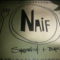 Photo taken at Naif Sandwich & Bar by Vito M. on 2/1/2013
