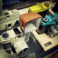 Photo taken at Lomography Gallery Store Santa Monica by Vitali K. on 11/14/2012