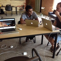 Photo taken at The Grove Dallas Coworking by Bradley J. on 9/16/2013