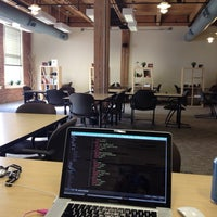 Photo taken at The Grove Dallas Coworking by Bradley J. on 1/26/2014