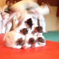 Photo taken at Judo Club Bessenois by David C. on 6/1/2013