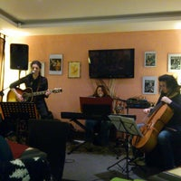 Photo taken at Bar Enoteca Birreria Peppotto by Silvia C. on 4/5/2013