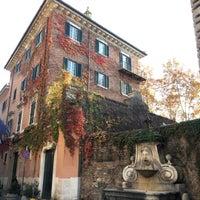 Photo taken at Via Giulia by RomeAdvisor on 11/27/2016