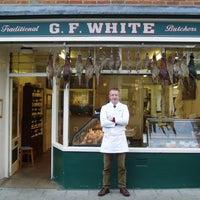 Photo taken at G.F. White Butchers by G.F. White Butchers on 10/2/2013