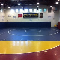 Photo taken at Peninsula Wrestling Club by Paul N. on 9/18/2013