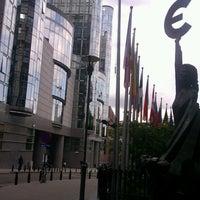 Photo taken at European Parliament MOY by Mihai L. on 6/20/2013