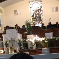 Photo taken at Bethel AME Church by Katherine on 4/3/2016