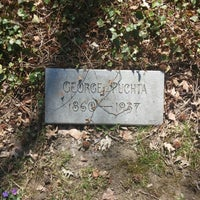 Photo taken at George Puchta grave by Travis S. on 4/20/2014