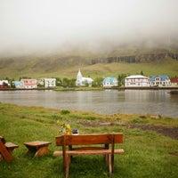 Photo taken at Seyðisfjörður by Shelly on 6/21/2014