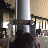Photo taken at 第1ターミナル 5番バスのりば by arkw on 10/8/2014