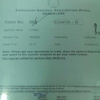 Photo taken at Foreigners Regional Registration Office by +JoMeO+ O. on 6/7/2013
