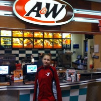 Photo taken at A&W Restaurant by Anne B. on 2/16/2014