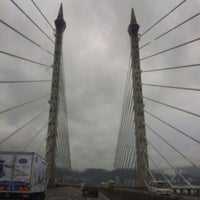 Photo taken at Penang Bridge by Annie on 7/4/2013