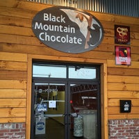 Photo taken at Black Mountain Chocolate Factory by Aaron on 6/27/2015
