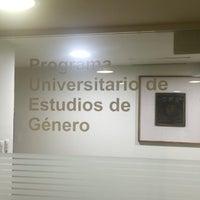 Photo taken at UNAM PUEG (Programa Universitario de Estudios de Género) by 'Ma P. on 9/3/2016