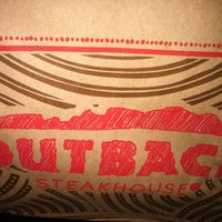 Photo taken at Outback Steakhouse by James M. on 4/15/2013