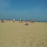 Photo taken at Zee Oostende by Nathalie D. on 7/22/2013