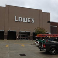 Photo taken at Lowe's Home Improvement by Jimmy S. on 10/8/2012