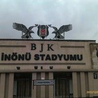 Photo taken at Beşiktaş İnönü Stadyumu Yeni Açık by uFuk Ü. on 12/4/2012