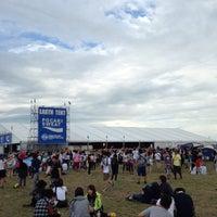 Photo taken at EARTH TENT (RISING SUN ROCKFESTIVAL) by kaz080 on 8/15/2015
